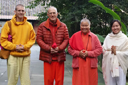 "<div style=""font-family: catamaran; color:#ffffff"">Chengdu Sivananda Yoga Vedanta Center </br><span style=""font-size: .8em"">Chengdu 
