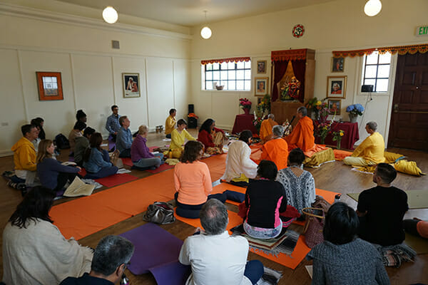 "<div style=""font-family: catamaran; color: #ffffff"">Sivananda Yoga Vedanta Center</br><span style=""font-size: .8em"">San Francisco, CA 