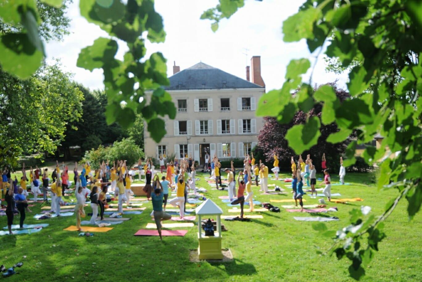 Contactez-nous | Ashram de Yoga Sivananda | Yoga | France