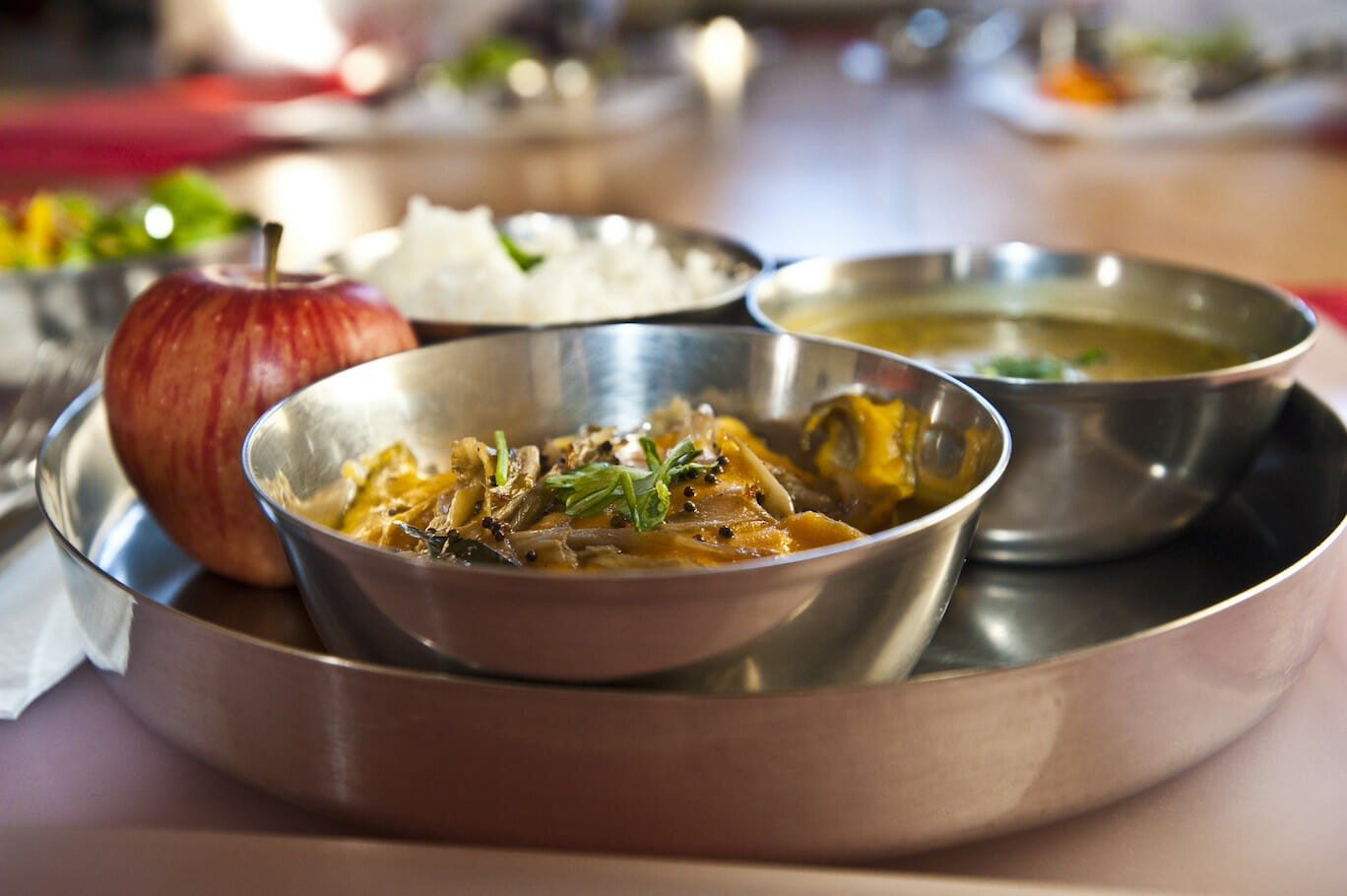 Delicious Vegetarian Meals | Ashram de Yoga Sivananda | Yoga | France