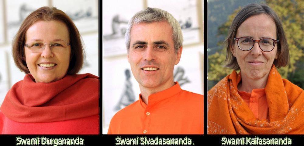 Les Acharyas des Centres Sivananda Européens | Ashram de Yoga Sivananda | Yoga | France