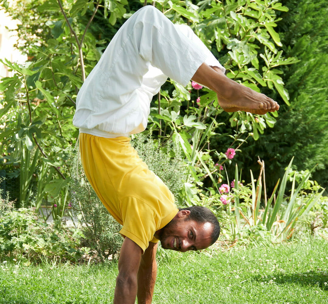 Art of correcting inverted and balancing postures | Ashram de Yoga Sivananda | Yoga | France