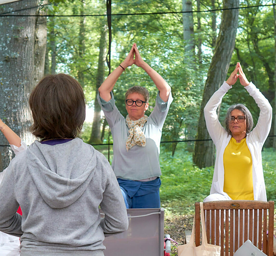 """<div style=""""line-height: 1.3; color: #b04640; font-family: catamaran;""""><span style=""""display: inline-block;""""> Further Training for Yoga Teachers: <span style=""""display: inline-block;""""> How to Teach Yoga to Seniors</span></div>"""
