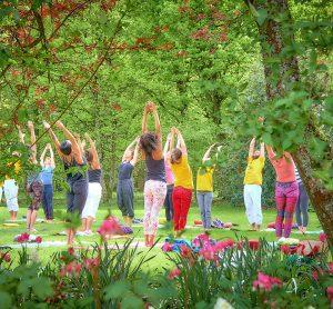 Basic Asana practice